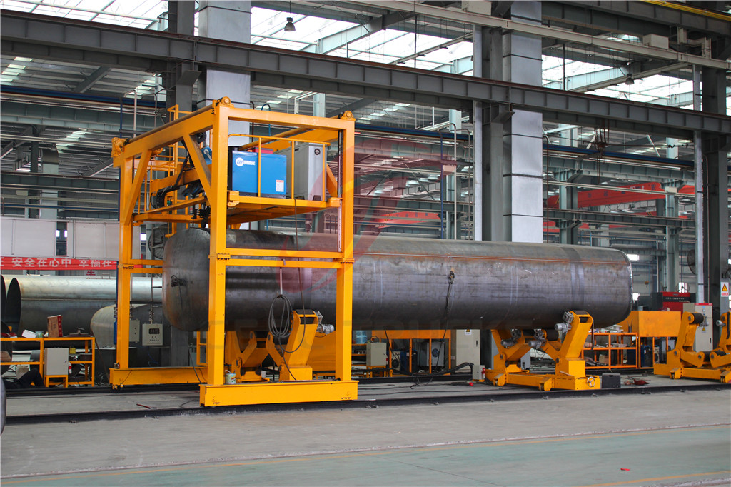 tanker truck production line