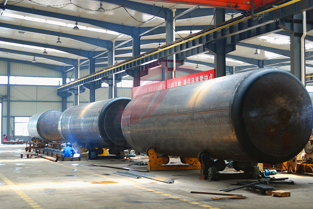 Fuel tanker truck production line