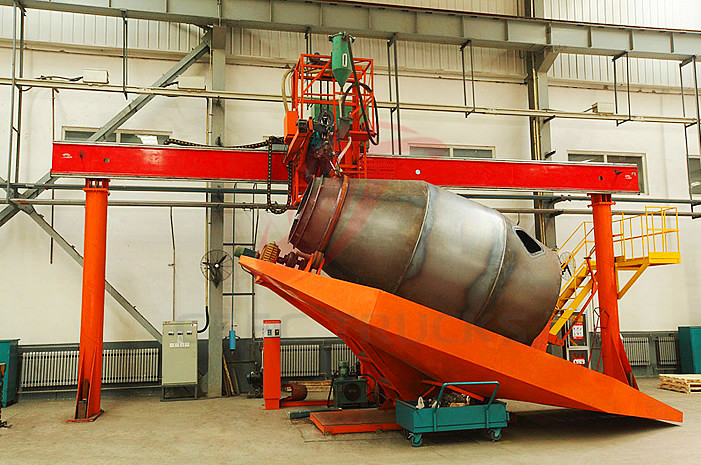 Beiben cement mixer workshop