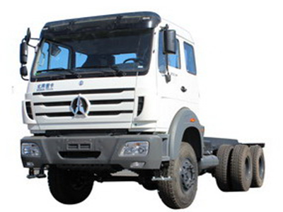 north benz 2634 towing truck