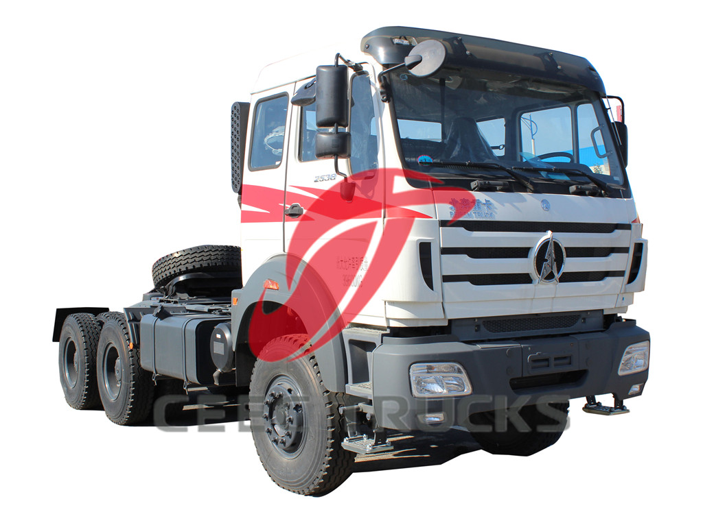 Beiben 2538 tractor truck drawing