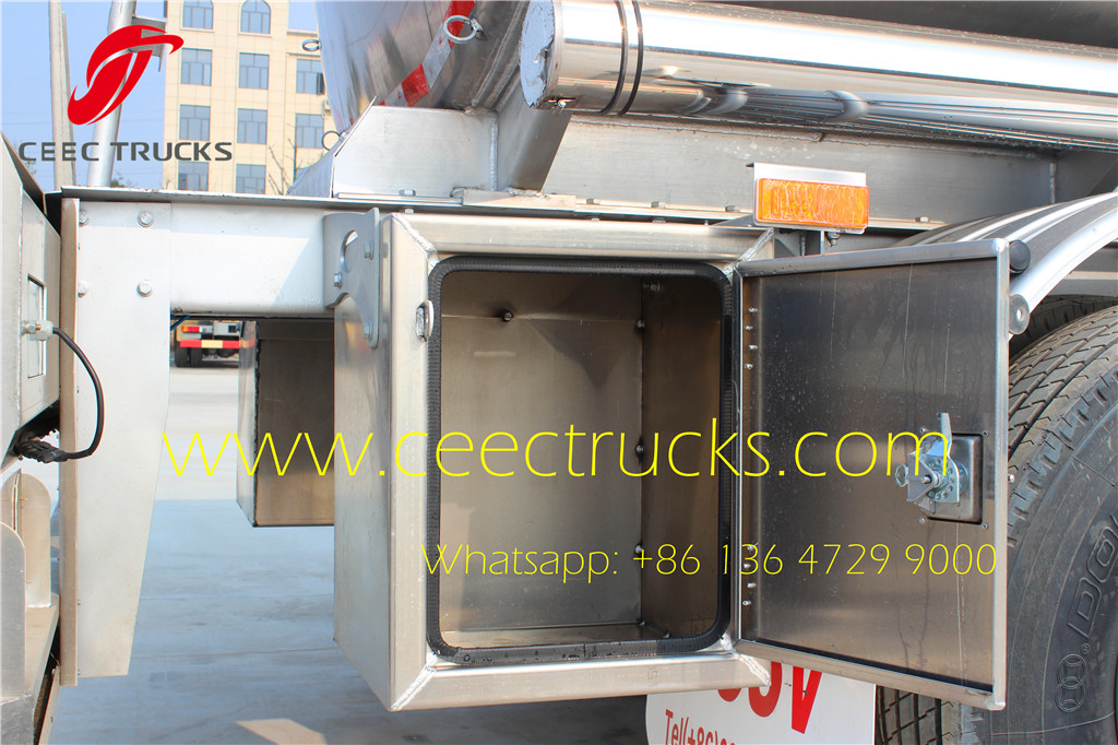 ceec produced fuel tanker semitrail storage box