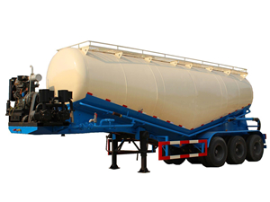 powder transport semitrailer