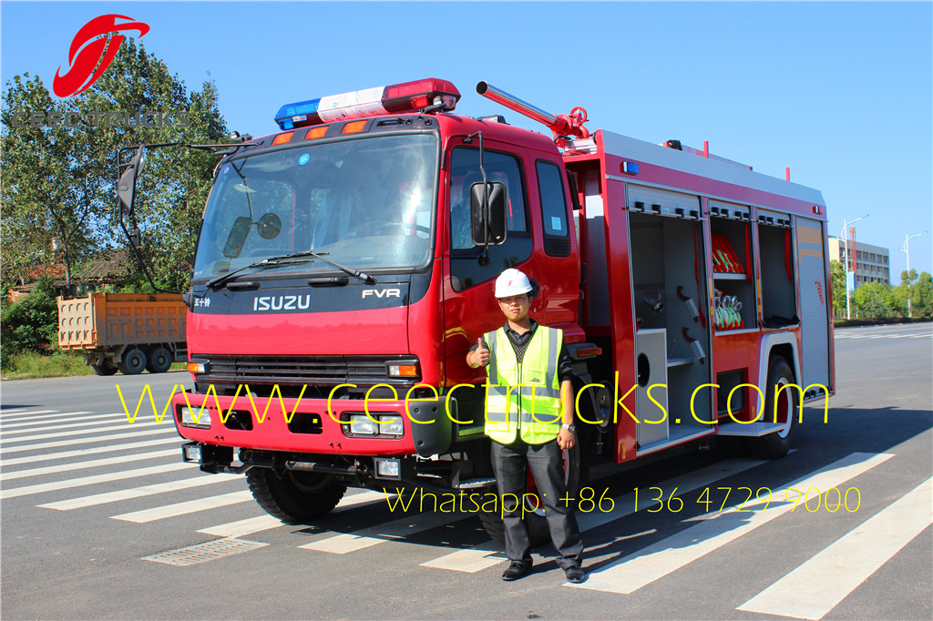 ISUZU 5000 Liter firefighting trucks