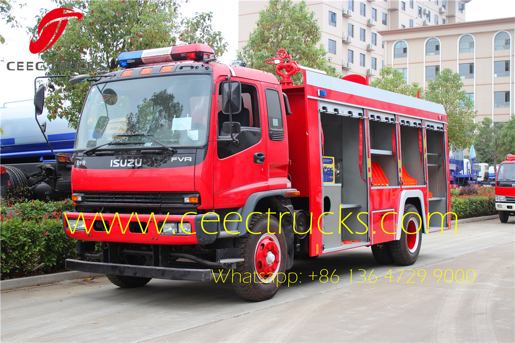 ISUZU 5 CBM Firefighting Truck