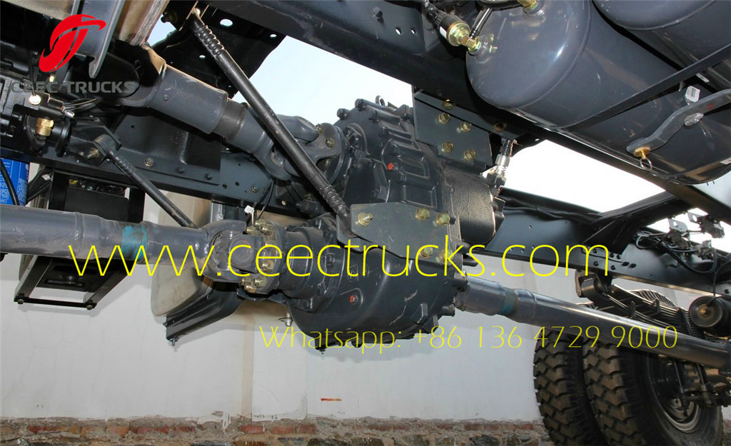 Kenya customer choose Beiben 4*4 military chassis