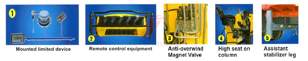 5 T XCMG truck mounted crane advantages