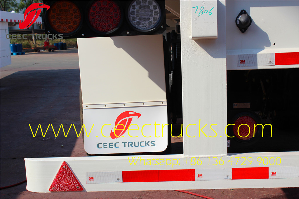 Best fuel tanker semi trailer manufacturer in China