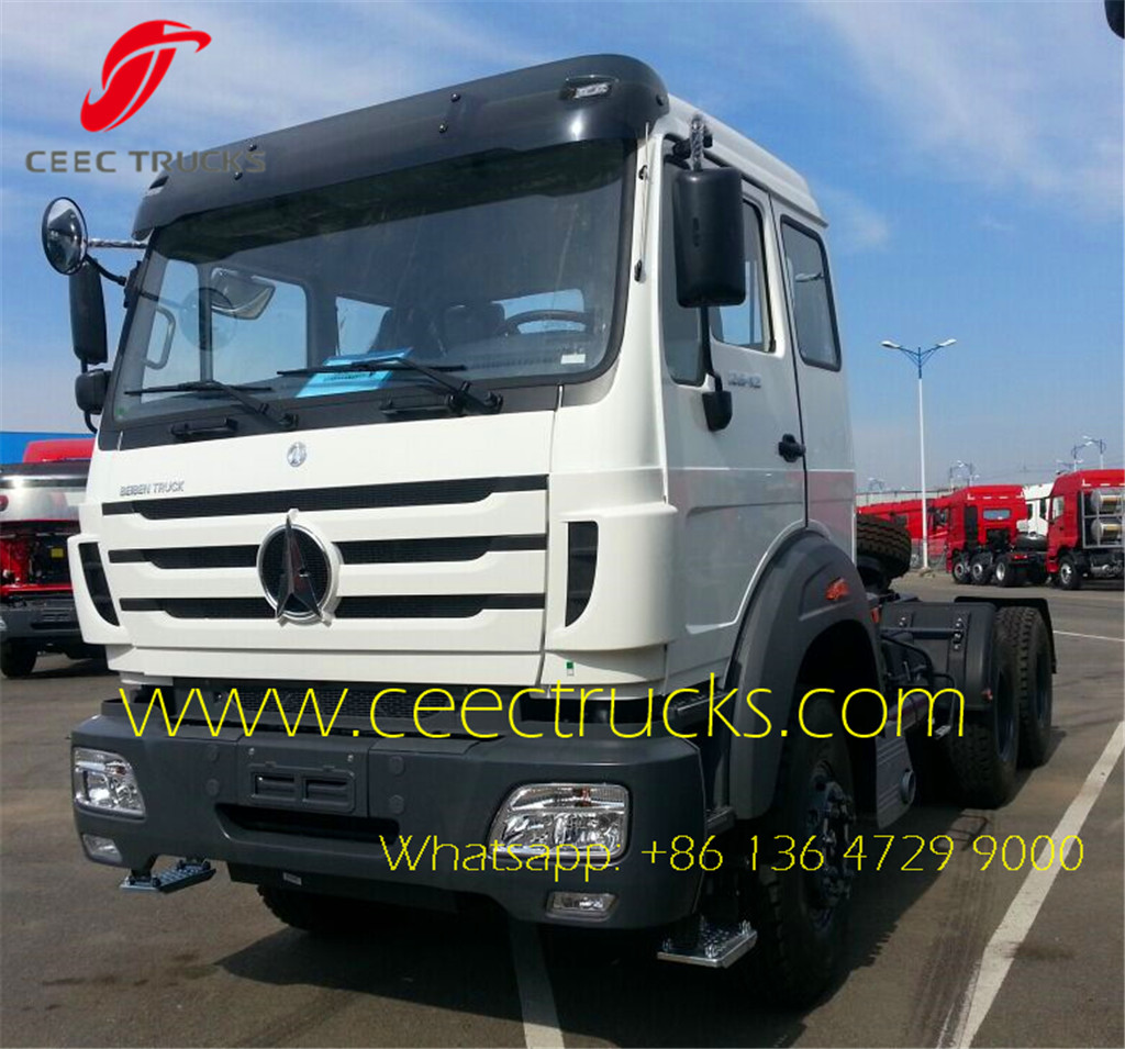 beiben 10 wheel 50T towing trucks supplier