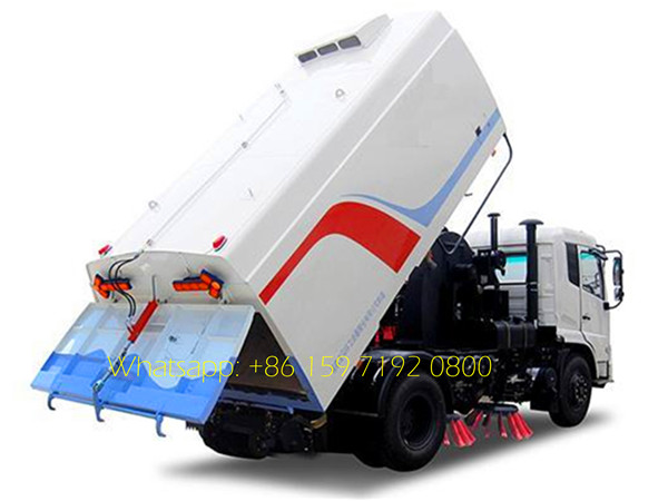 Dongfeng 8000 liters road sweeper
