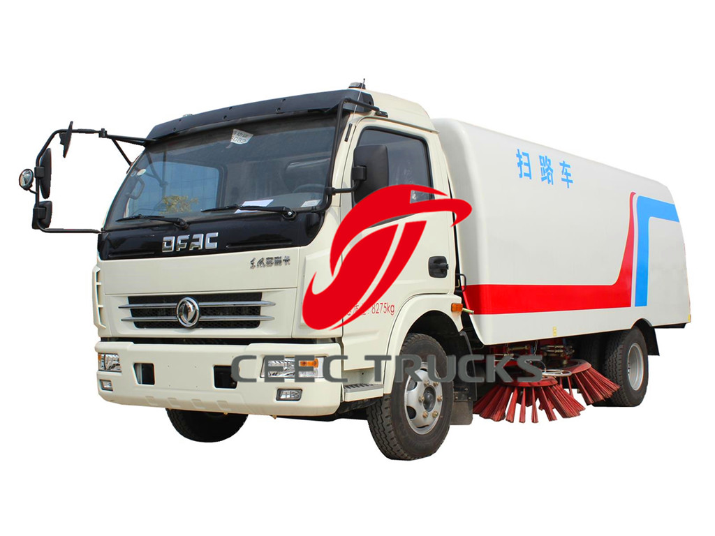 Dongfeng 6 CBM road sweeper vehicles