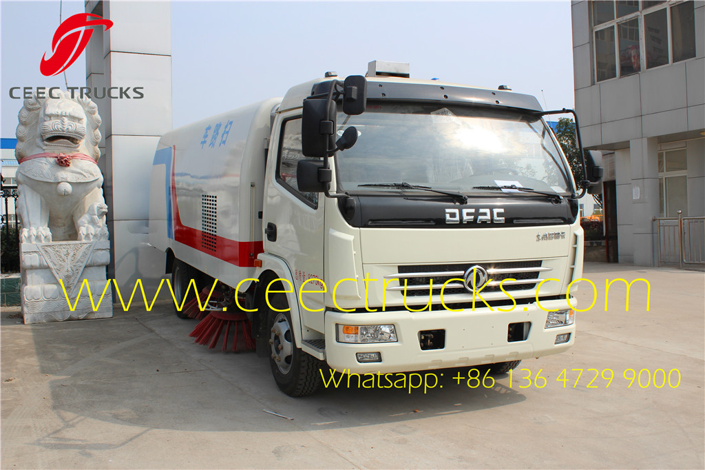 Dongfeng 6 CBM road sweeper vehicle
