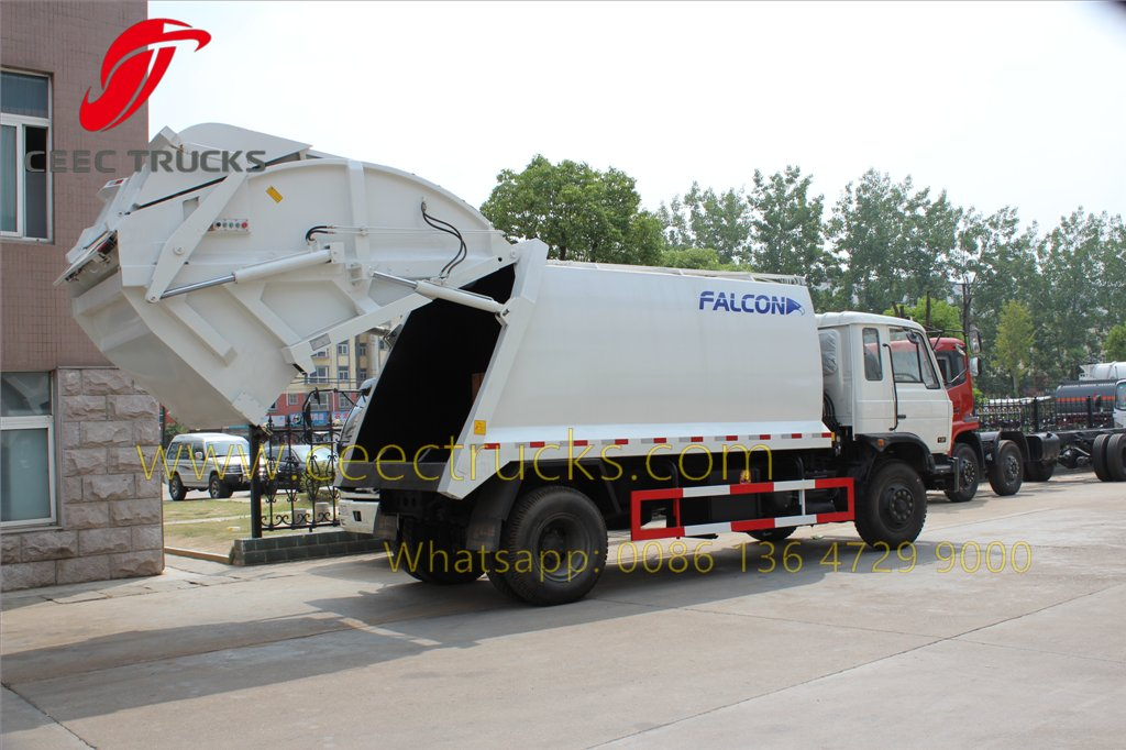 dongfeng garbage compactor truck