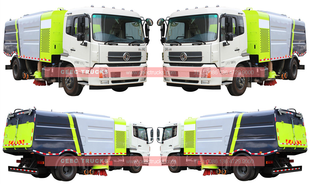 CEEC 12cbm road sweeper truck dongfeng