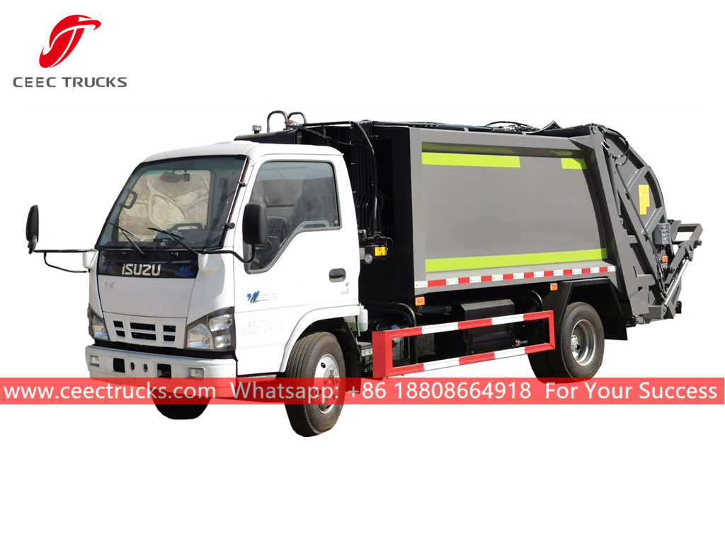 ISUZU 6CBM Refuse collection truck