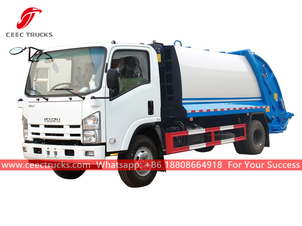 ISUZU 8CBM Garbage collection truck
