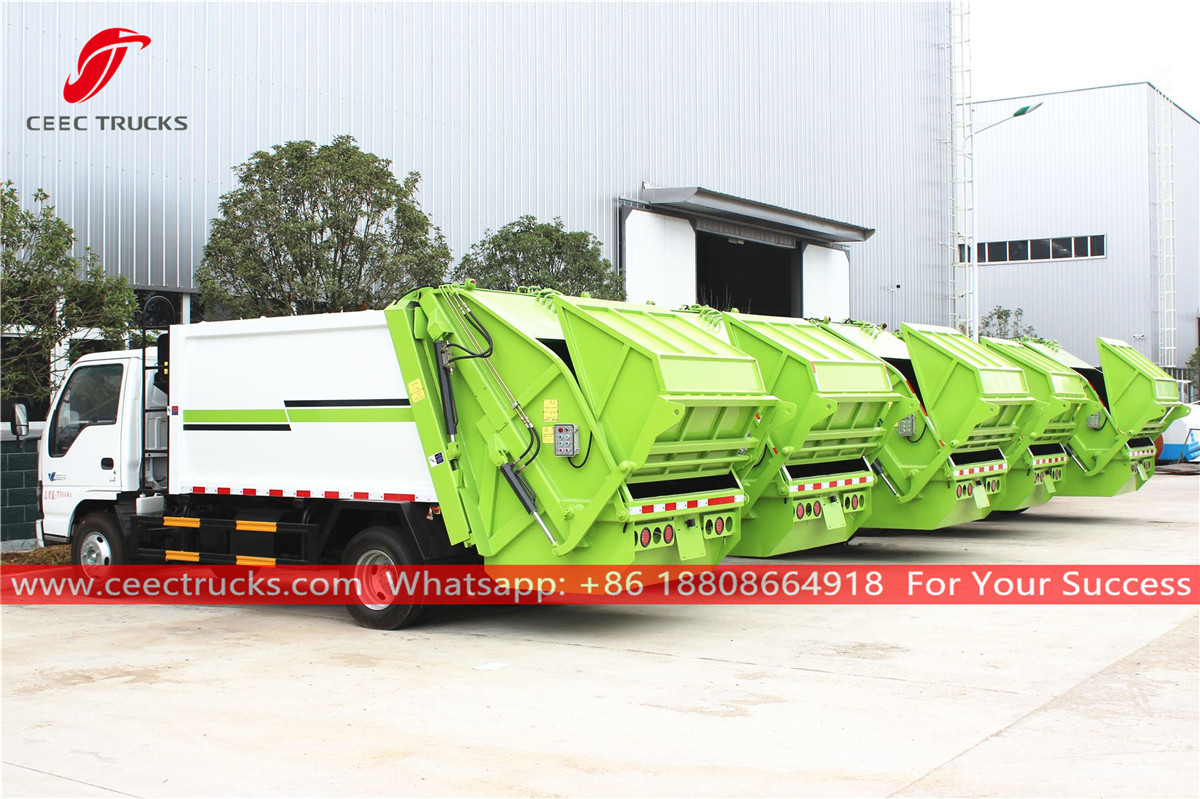 Waste compactor trucks for sale