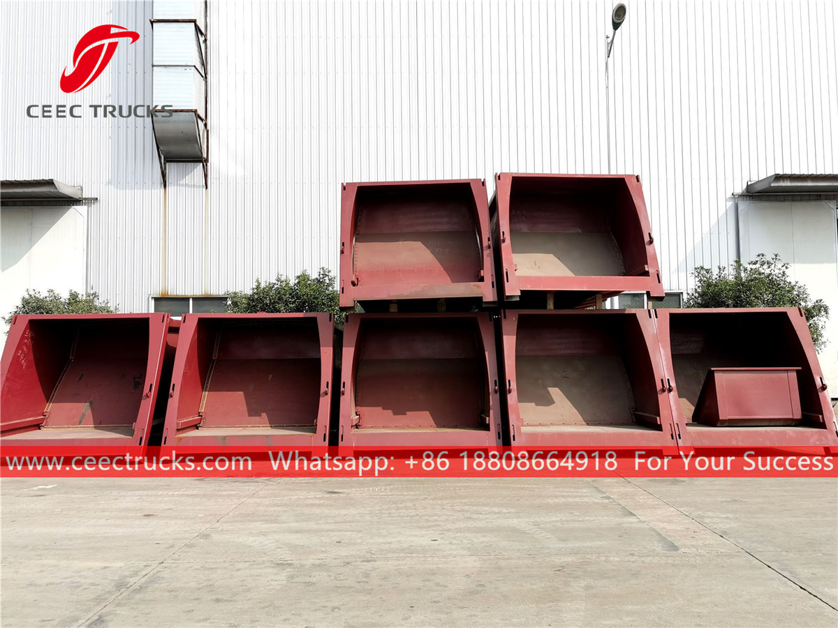 Waste compactor body