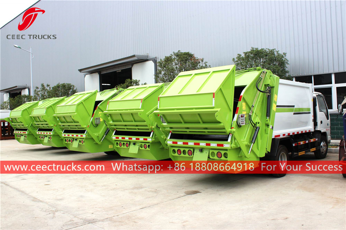 ISUZU GIGA Garbage compressor truck for exporting