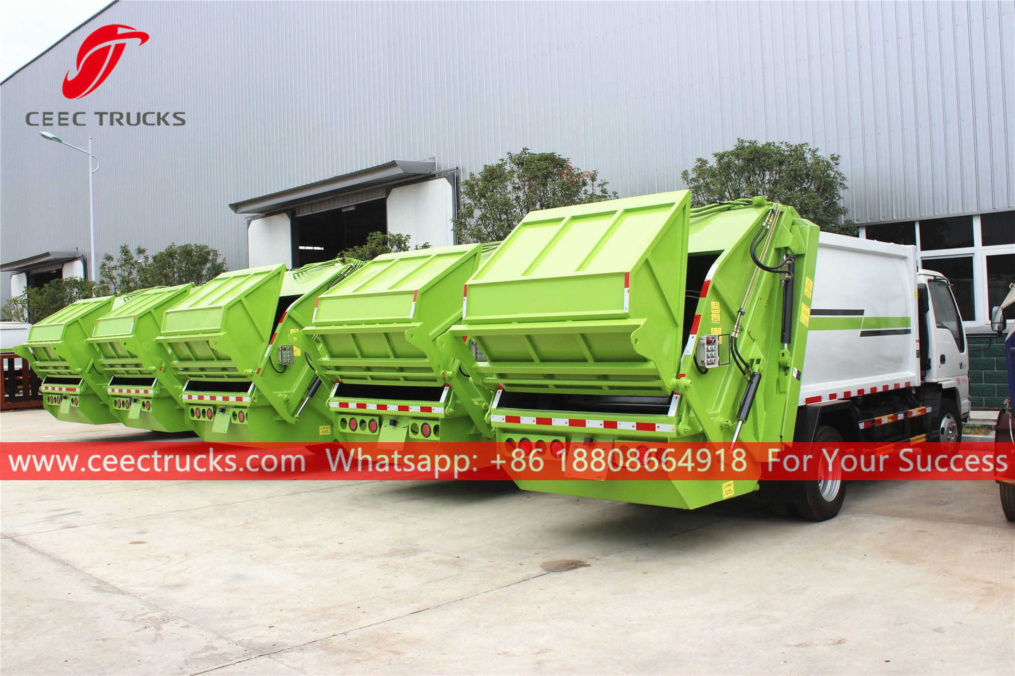 Refuse compactor vehicles for sale