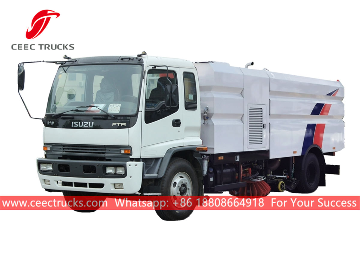 ISUZU Street sweeping truck for sale