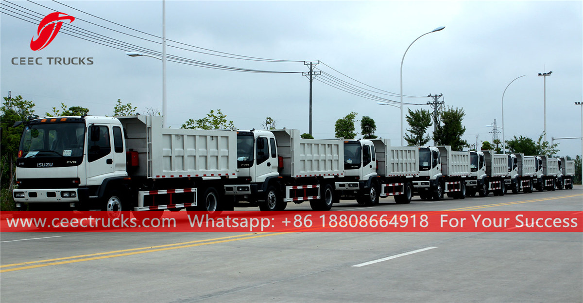 10 units dump trucks were exported to Philippines