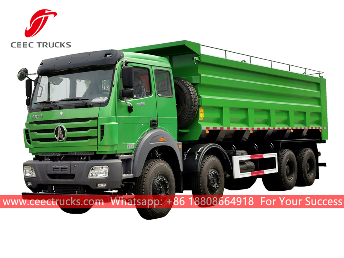 Factory price beiben tipper lorry