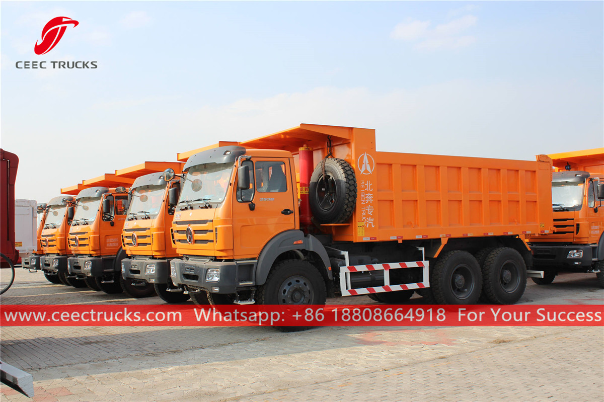 Beiben tip-trucks for sale