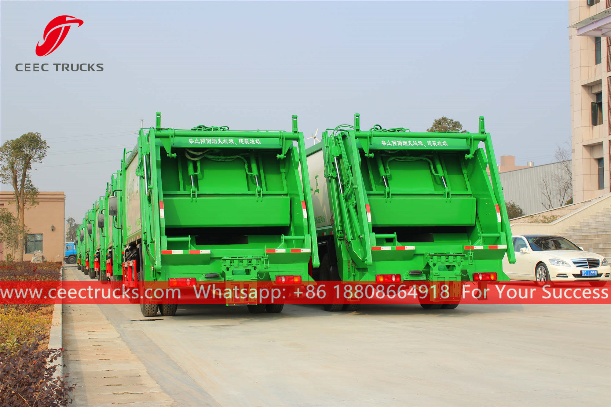 Factory price Garbage compactor trucks