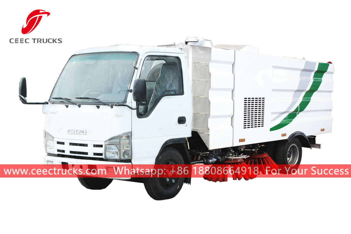 ISUZU 5CBM Street cleaner truck for sale
