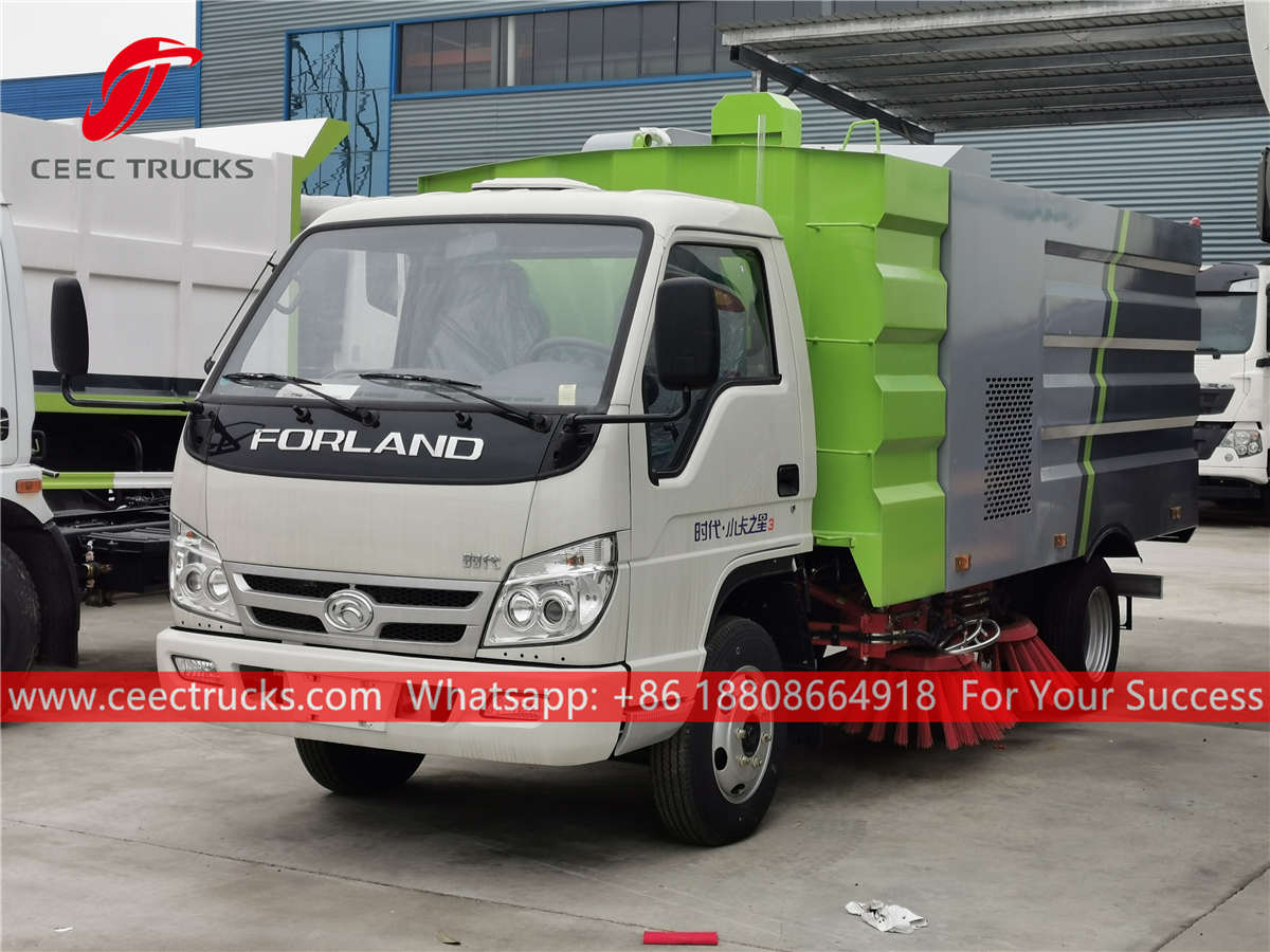 FOTON street sweeper for sale