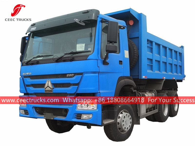 HOWO 6x4 dump truck for sale