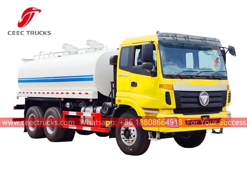 FOTON 6×4 water truck for sale