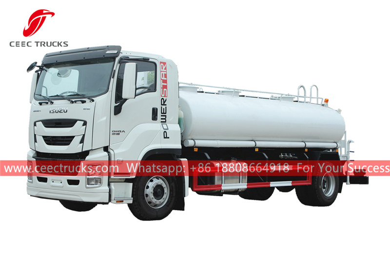 ISUZU GIGA 12,000 liters portable water truck