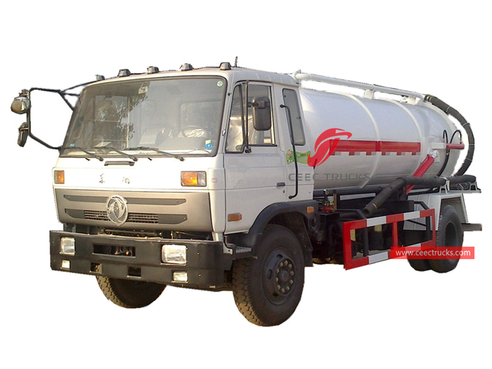 Dongfeng RHD vacuum suction truck