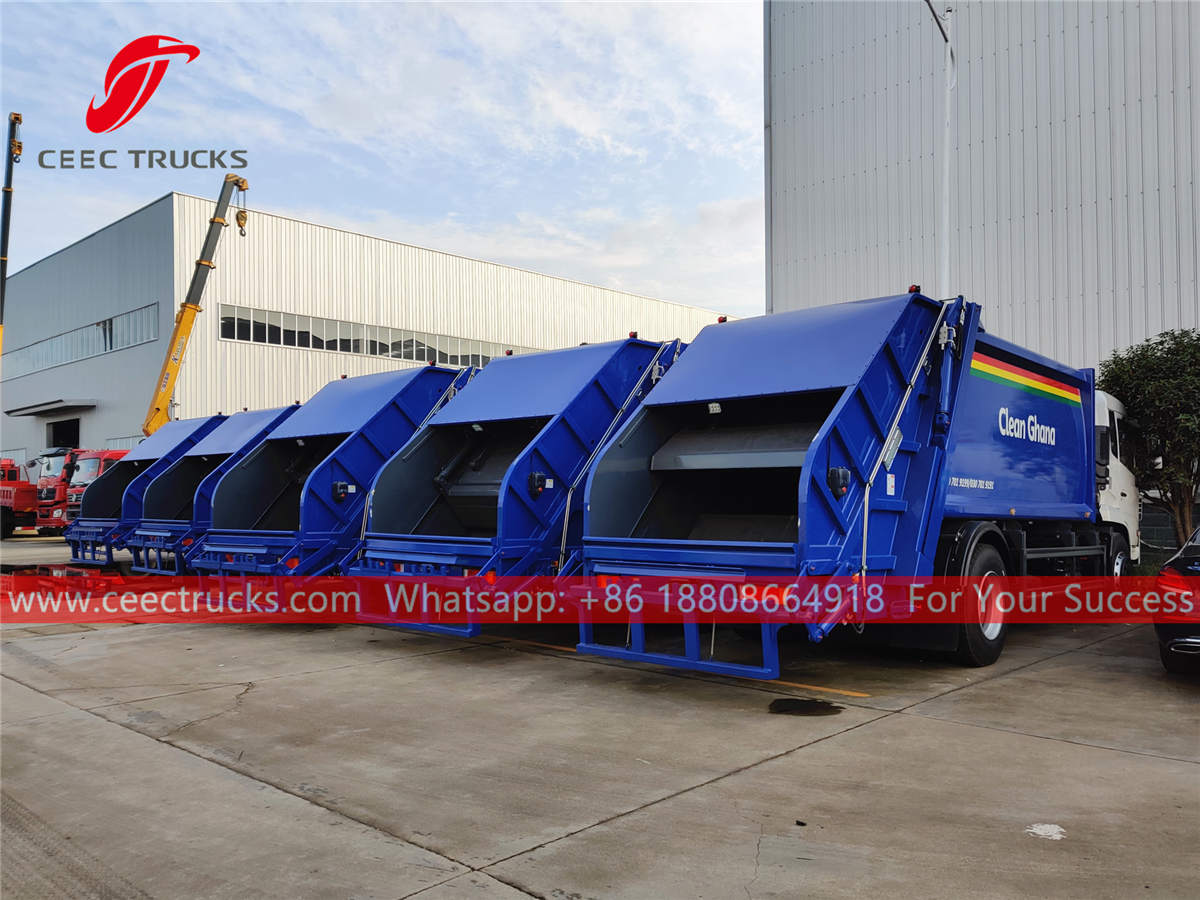 Refuse compressed trucks for sale