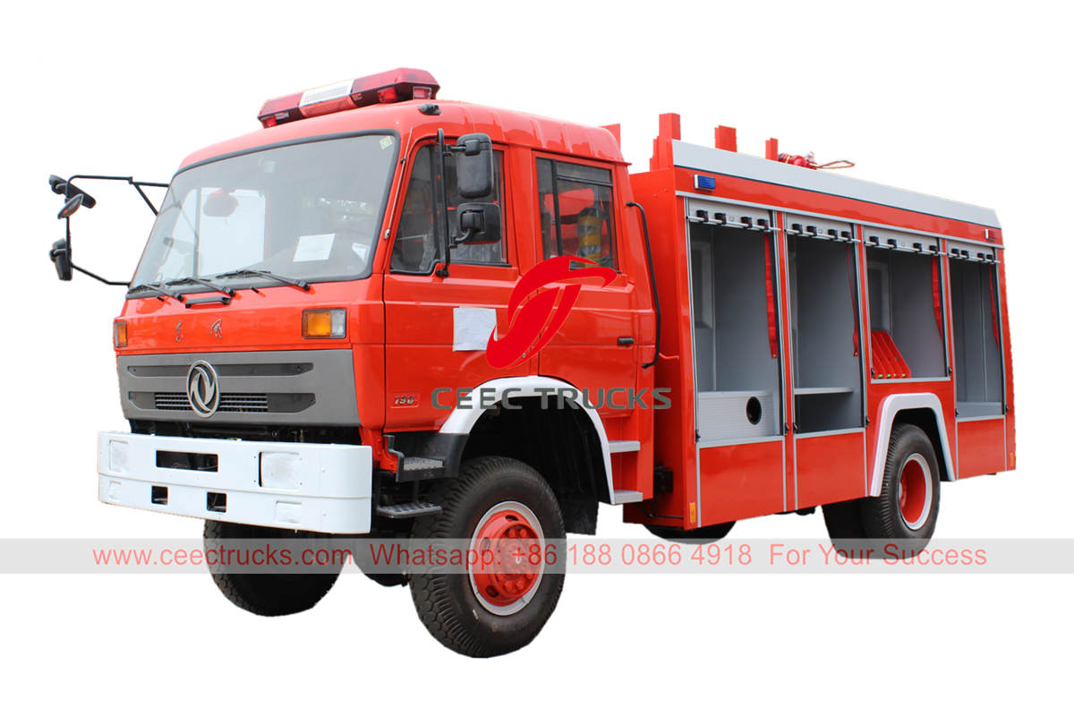 Dongfeng 4×4 fire lorry