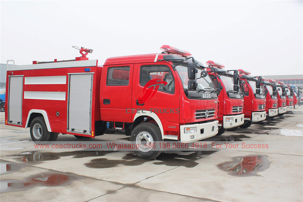 China fire engine manufacturer