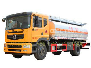 dongfeng 10000 litres carburant bowser camion
