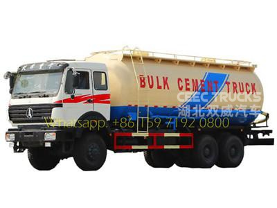 beiben military 10 wheeler bulk cement truck sale