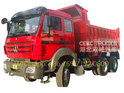 30 tons Beiben dump truck of loading goods truck