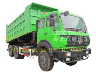 beiben 6x4 35 tonnes 10 roues tombereau camions benne