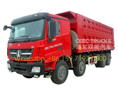 50 tons air condition tipper truck Beiben for African
