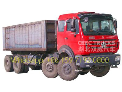 Brand New 420HP Beiben NG80 prime mover supplier