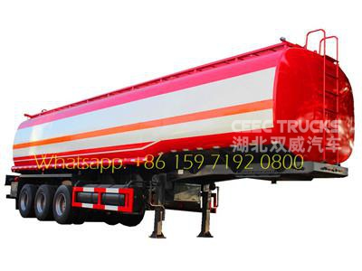 TOP 38CBM oil tanker semitrailer manufacturer directly sale lowest price