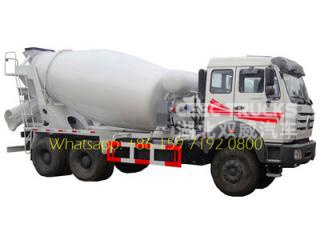 camion malaxeur beiben ng80b 10m3