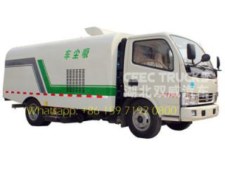 dongfeng 5cbm aspirateur route balayeuse camion citerne fabricant