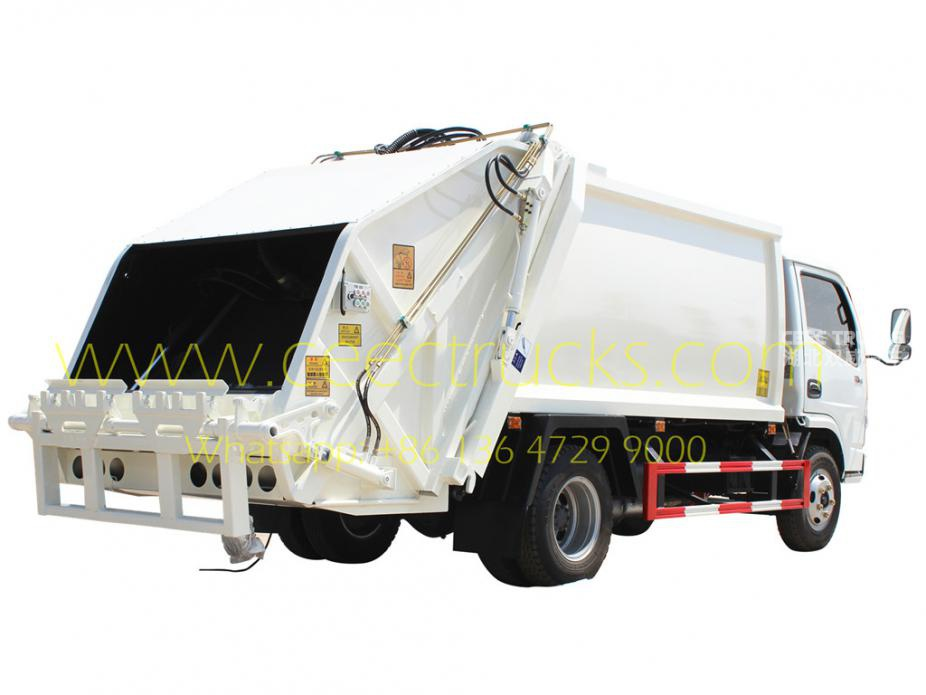 DFAC 6cbm rubbish compactor truck hot sale