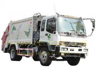 Japan tech ISUZU 12 CBM chariot à ordures