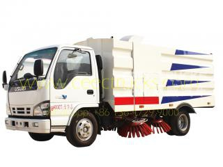 isuzu 5000l route balayeuse camion fournisseur d'or